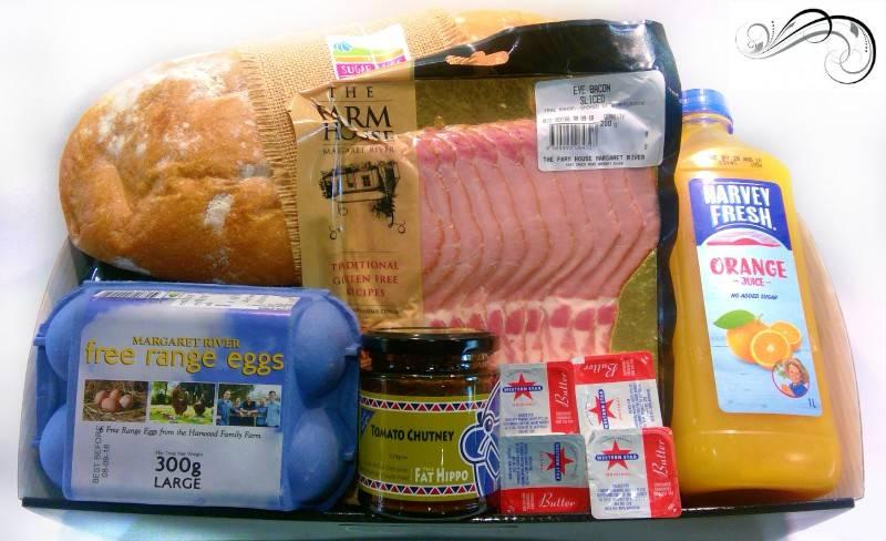 Bacon and Egg Hamper - Boxed Indulgence