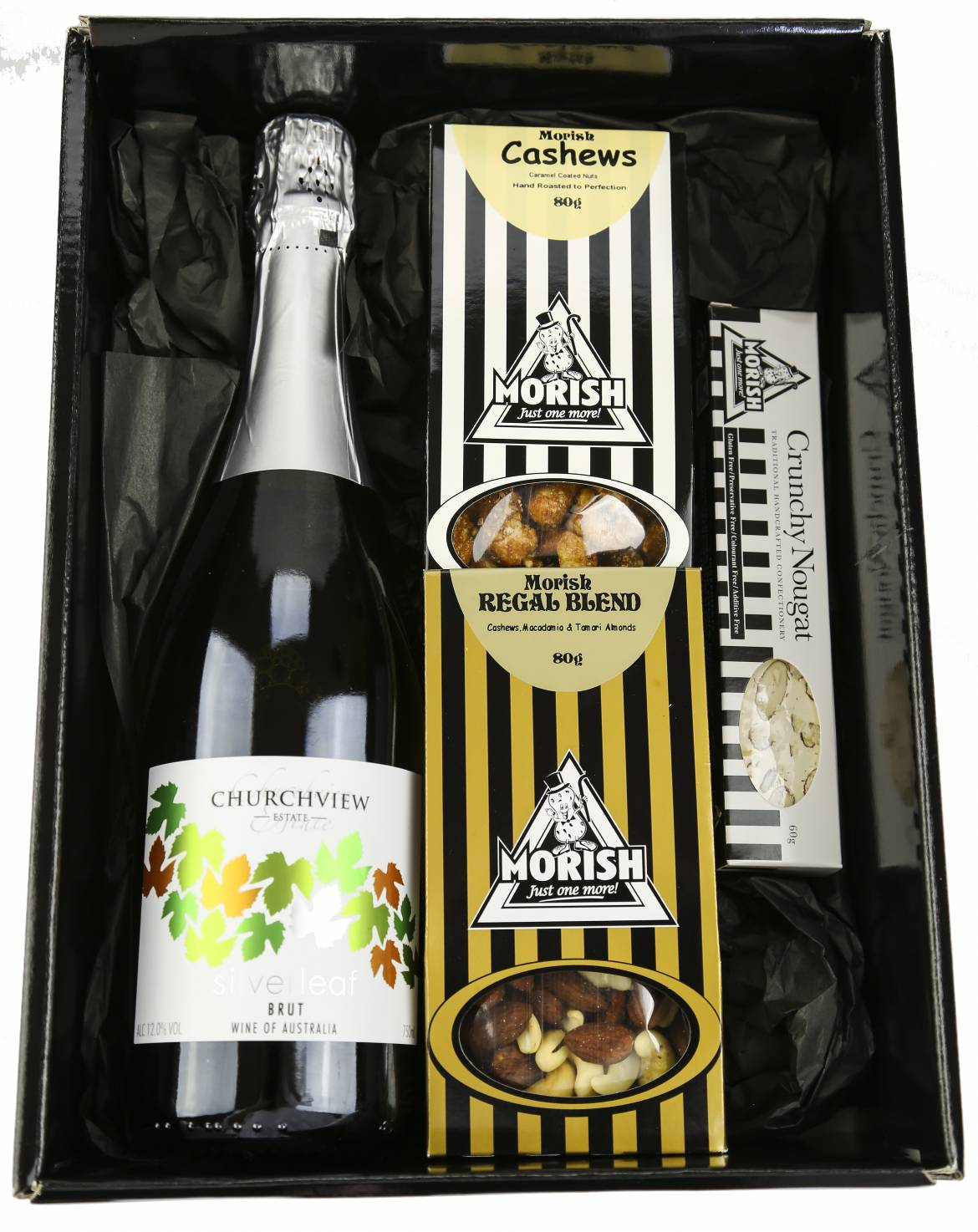 Champagne and Morish - Boxed Indulgence – Gourmet Baskets and