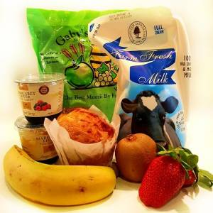 Fruit Muesli and Yoghurt Hamper - Boxed Indulgence
