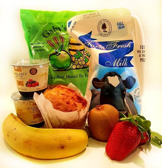 Fruit Muesli and Yoghurt Hamper - Boxed Indulgence