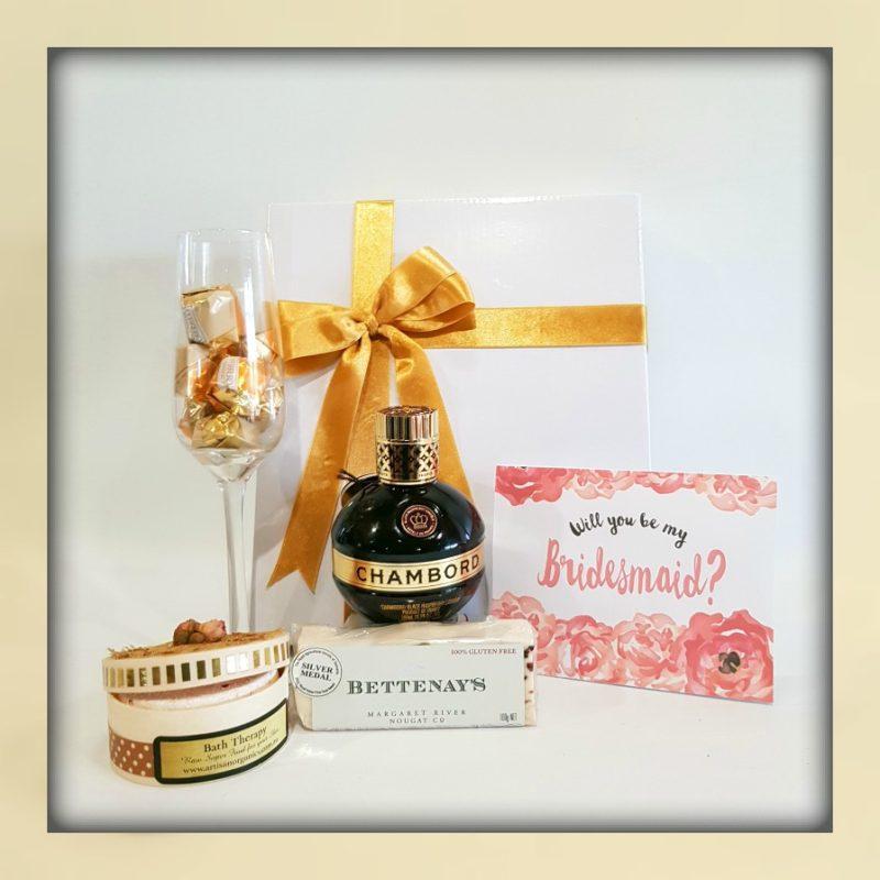 Bridesmaid Gift Box - Boxed Indulgence Gourmet Hampers