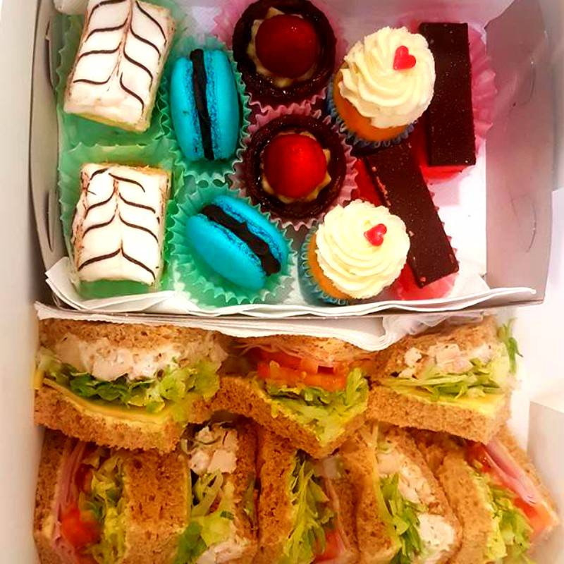 Tea in a Box - Boxed Indulgence Gourmet Hampers