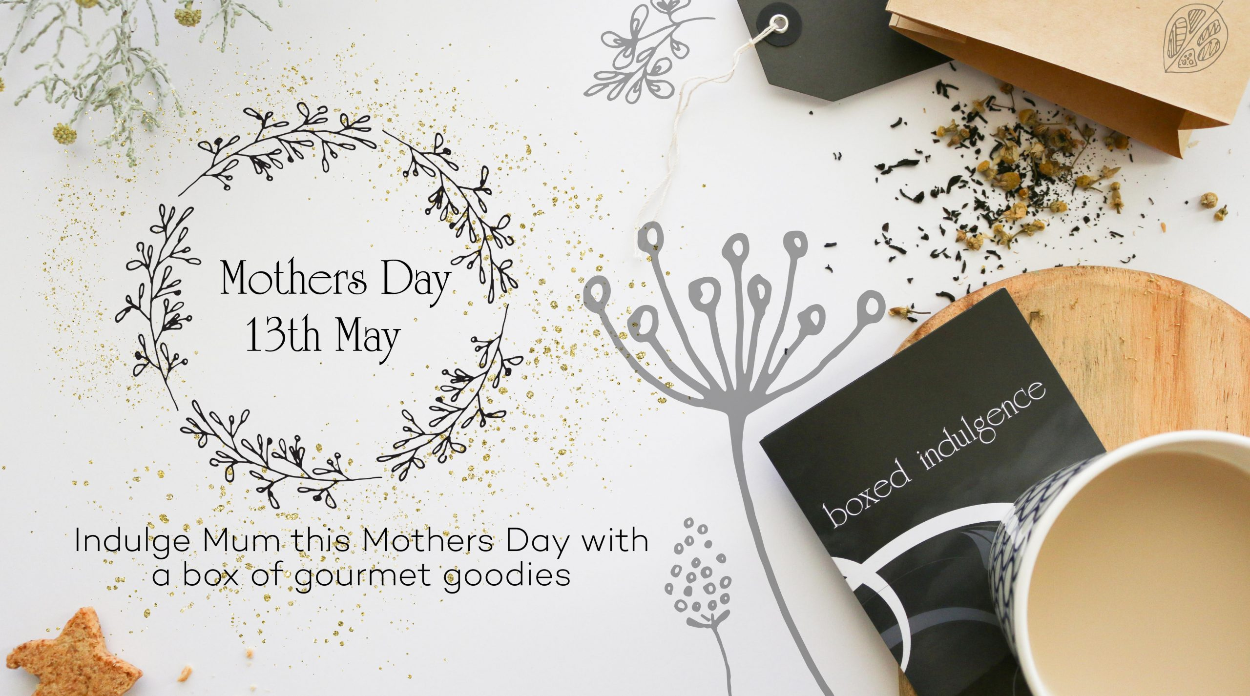 Mothers Day Banner 2018 - Boxed Indulgence Gourmet Hampers