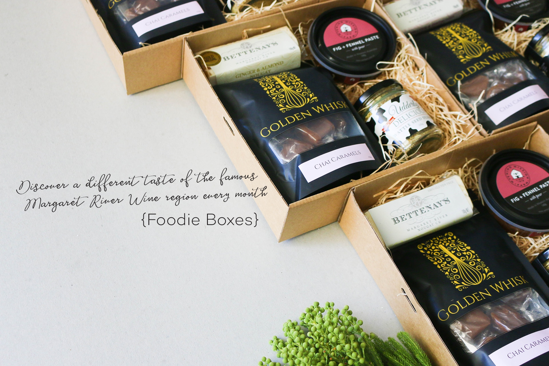 Foodie Box Banner - Boxed Indulgence