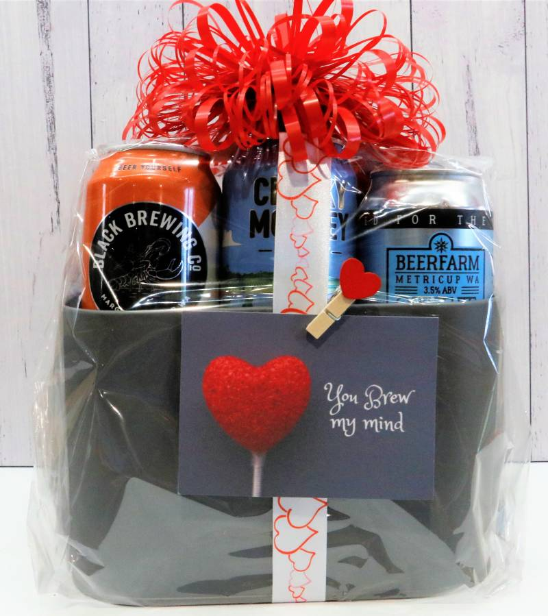 Craft Beer Bucket Bouquet - Boxed Indulgence