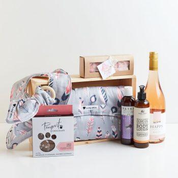 Hamelin Bay Baby Girl Gift Box - Boxed Indulgence