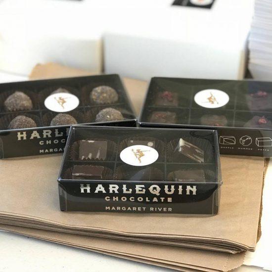 Harlequin Chocolates - Boxed Indulgence