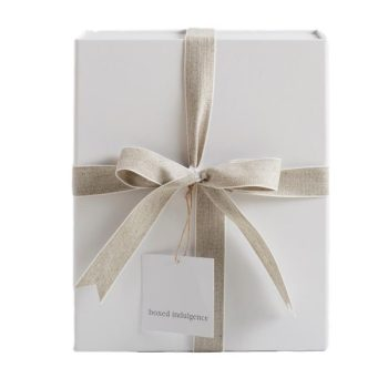 White Magnetic Gift Box - Boxed Indulgnence