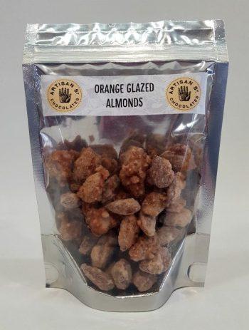 Artisan St Orange Glazed Almonds - Boxed Indulgence