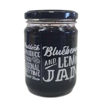 Paddock2Produce Blueberry and Lemon Jam - Boxed Indulgence