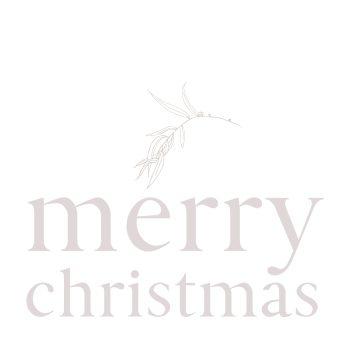 Merry Christmas Card - Boxed Indulgence
