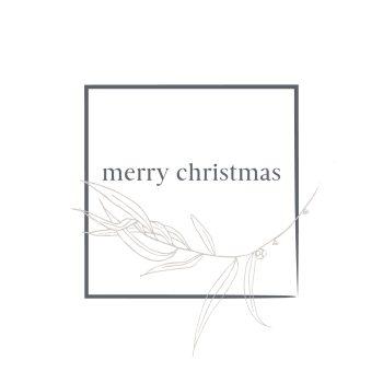 Christmas Card - Boxed Indulgence