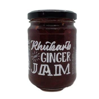 Paddock2Produce Rhubarb & Ginger Jam - Boxed Indulgence