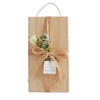 Wooden Wine Box - Boxed Indulgence