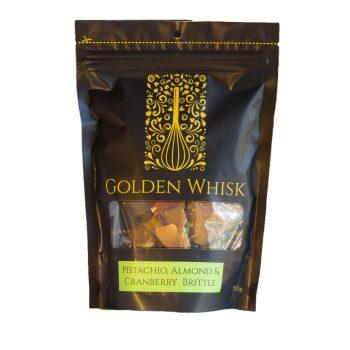 Golden Whisk Pistachio Brittle - Boxed Indulgence