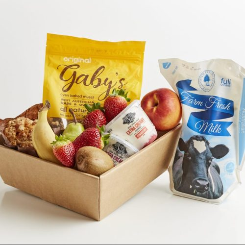 Fruit and Muesli Breakfast Box - Boxed Indulgence