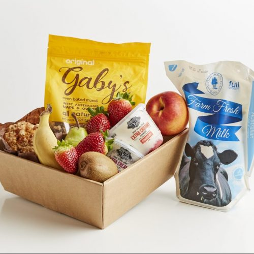 Fruit and Muesli Breakfast Box - Boxed Indulgence