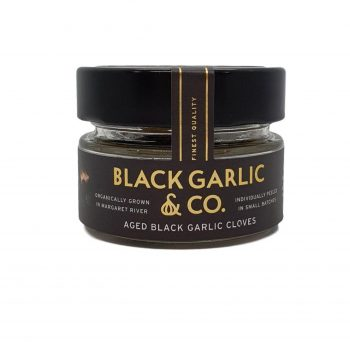 Black Garlic Co Aged black garlic cloves 25gr - Boxed Indulgence