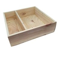 Wooden Wine Gift Box - Mens Shed