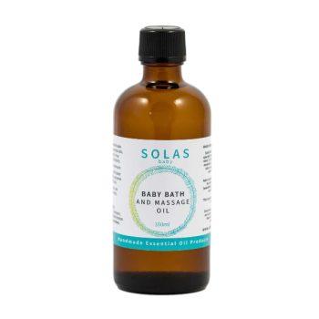 Solas - Baby Bath Massage Oil - Boxed Indulgence