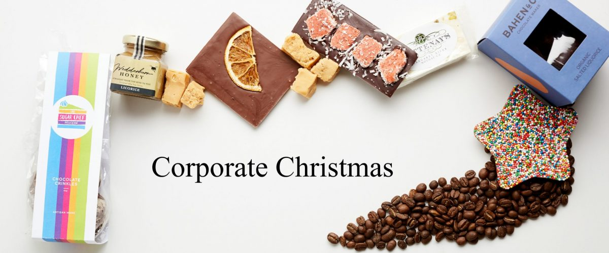 Corporate Christmas Banner - Boxed Indulgence